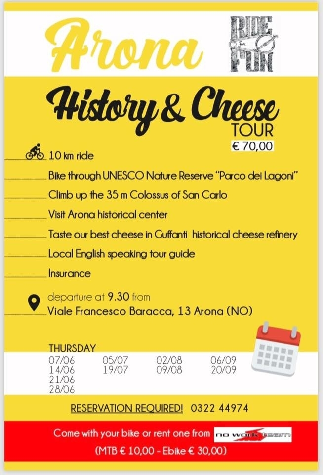 ARONA HISTORY & CHEESE - No Work Team Srl